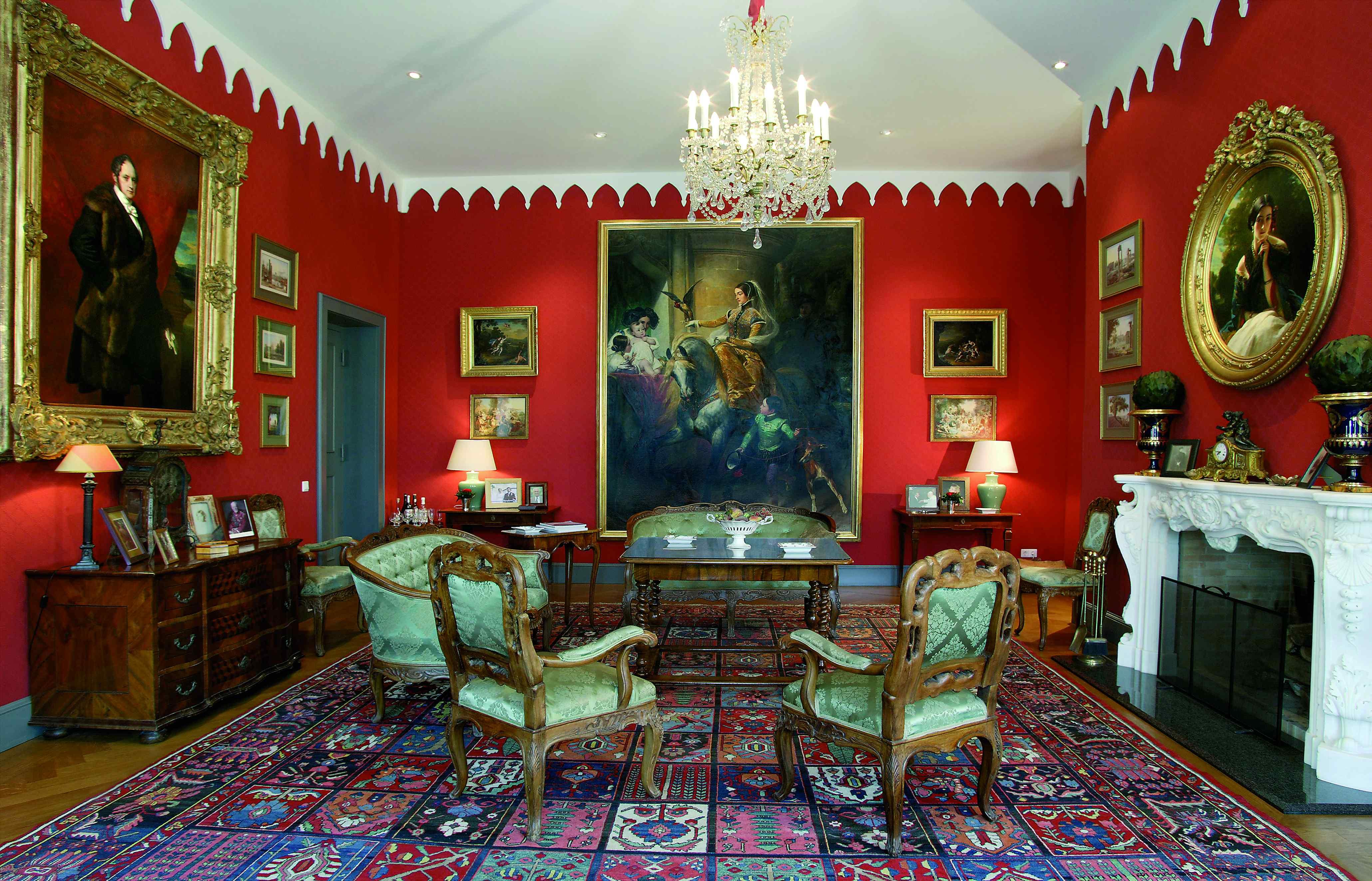 Roter Salon max. 35 Personen
